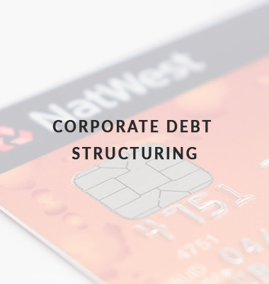 Corporate Debt Structuring Icon