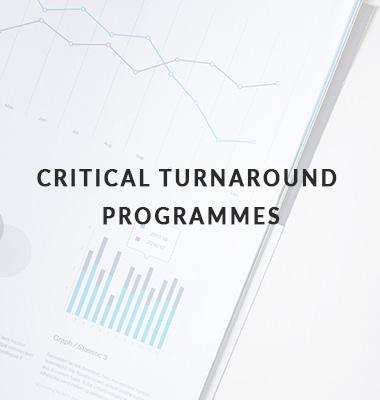 critical turnaround programmes