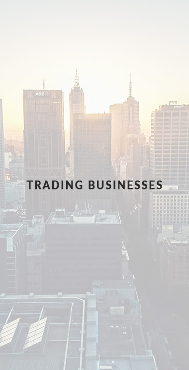 Business Advisory - trading busineeses
